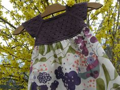 Ravelry: robe d'été en tricot et liberty by Sandrine Bianco