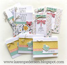 Karen Pedersen: April Play Group Scrappin' and Card Makin' Classes and Kits (Dreamin' Big)