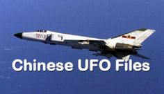 Um dos encontros da Força Aérea da China com um OVNI / UFO