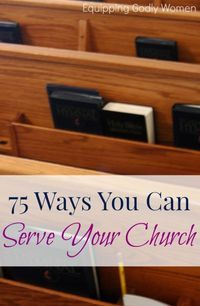 75 Ways You Can Serve Your Church Running a church requires a lot of hands. Here are 75 ways YOU can help serve your church. Church Office, My Church, Kids Church, Church Ideas, Church App, Church Stage, Church Ministry, Ministry Ideas, Youth Ministry