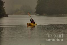 Rain Fall Photograph by Steven Reed Fine Art Prints and Posters for Sale #stevenreedphotography #kayaking