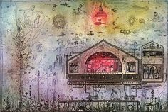 """Képtalálat a következőre: """"gross arnold rézkarc"""" Taj Mahal, Vintage World Maps, Modern, Painting, Artists, Trendy Tree, Painting Art, Paintings, Painted Canvas"""