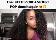 "Enjoy all this ""Buttery-Goodness"" with Goode Butter& Curl Pop!, Hairstyles, Enjoy all this ""Buttery-Goodness"" with Goode Butter& Curl Pop! The simplest curl defining cream with less than 15 ingredients. Get the curls you . Natural Hair Care Tips, Curly Hair Tips, Curly Hair Care, Natural Hair Journey, Natural Curls, Curly Hair Styles, Natural Hair Styles, Natural Hair Cream, Twisted Hair"