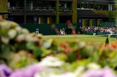 A scenic view of the action on Day Three. - Thomas Lovelock/AELTC
