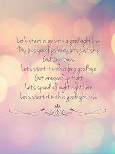 Goodnight Kiss - Randy Houser lyrics