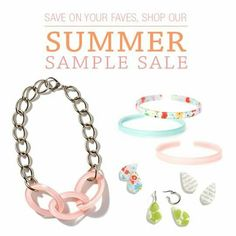 Shop our summer sample sale of discontinued items.. sale ends when July does.. connierussell.MyColorByAmber.com