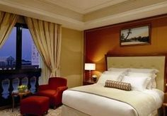 Bedroom at The Ritz Carlton - Riyadh - Saudi Arabia