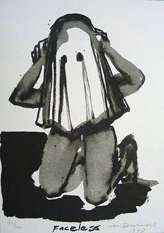 Marlene Dumas - Faceless