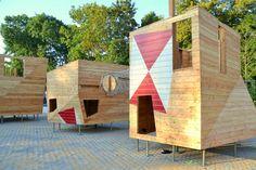 [Playscapes Blog] - Modern Castle Playground, Zulpich Germany, RMP Stephan Lenzen, 2014
