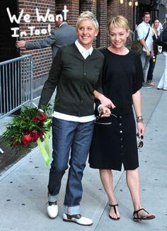 Ellen and Portia.