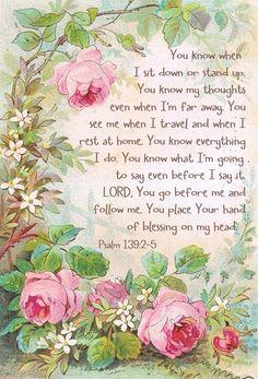 Psalm 139:2-5