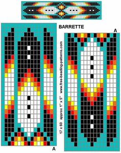 Native American Tribal Beading Patterns | Native Beadwork Patterns by Pech Pech