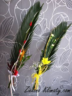 Palmy wielkanocne Ester Decoration, Holidays And Events, Diy And Crafts, Spring, Art, Palmas, Easter Activities, Art Background, Kunst