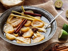 Slow-Roasted Feijoas Recipe with Star Anise - Viva