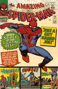 The Amazing Spider-Man (Vol. 1) 038 (1966/07)   - Another pin closer to a million pins! Wrhel.com