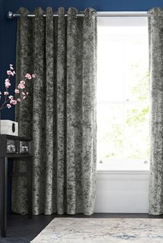 I hadn't thought about a curtain this textured
