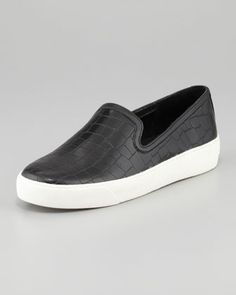 I must have these <3 Sam Edelman Becker Croc-Embossed Slip-On