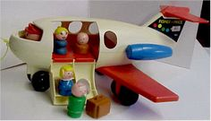 Fisher Price: Play Family Fun Jet. My son broke the door off our just last year.