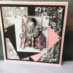 Paper Cards, Card Ideas, Playing Cards, Scrap, 3d, Pretty, Handmade, Children, Hand Made