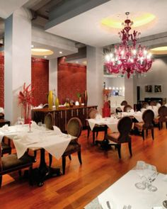 With a European menu and romantic dining room, Le Grill Restaurant is a Prague hot spot. #Jetsetter