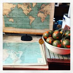 Original vintage maps and new vintage style maps from #Find #Cowslane #Templebar #Dublin