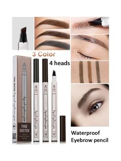 Eyebrow Pencil In 2019 Makeup Eyebrow Pencil – Images Gallery Smokey Eye Makeup, Eyebrow Makeup, Makeup Eyebrows, Eye Brows, Natural Hair Mask, Natural Hair Styles, Cabelo Ombre Hair, Beauty Tips With Honey, Wedding Acrylic Nails