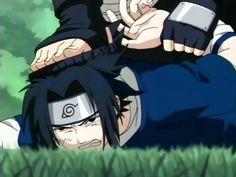 'don't step on sasuke!' hehe