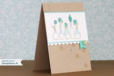 Video – How I make a card – Vivid Vases - Stempelwiese