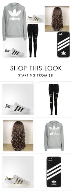 """When you're in love with a bit of Adidas"" by pizza-headphones on Polyvore featuring adidas, Miss Selfridge and Topshop"
