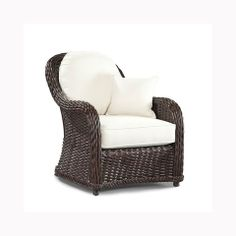 Indoor Classics Lounge Chair - Natural Wicker - Outdoor, Patio Furniture Toronto, Waterloo, Ottawa - Hauser Stores