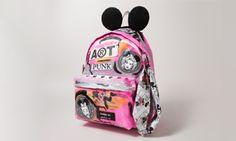 Eastpak Artist Studio 2014 backpack By Christopher Lee Sauvé for Designers Against AIDS