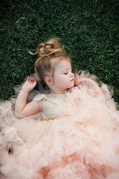 .Darling flower girl. TG