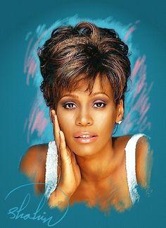 Whitney Houston by shahin