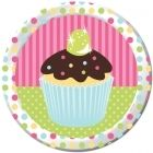 Cupcake Party Lunch Plates (8)