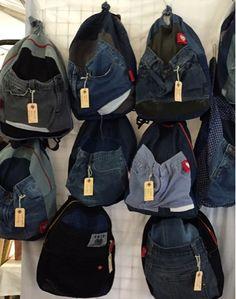 therusty_hen_crafts: More backpacks Sling Backpack, Backpacks, Handmade, Crafts, Bags, Fashion, Handbags, Moda, Hand Made