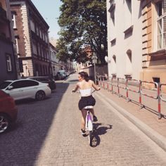 Cycling in Kraków