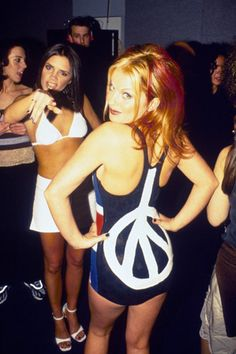 Ginger & Posh spice! LOVE the Spice Girls!