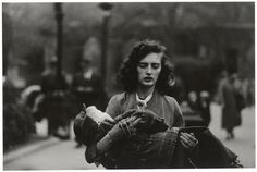 View Woman Carrying a Child in Central Park, N.C by Diane Arbus on artnet. Browse upcoming and past auction lots by Diane Arbus. Diane Arbus, Headless Man, York Art Gallery, Graffiti, Vsco, Central Park Nyc, Environmental Portraits, Vivian Maier, New York Art