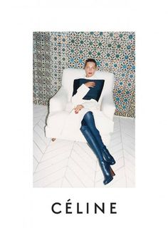 #FEMINISTS #PhoebePhilo #DariaWerbowy Céline fall 2013 campaign