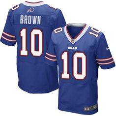 Men s Nike Buffalo Bills  10 Philly Brown Elite Royal Blue Team Color NFL Jersey  Ravens Tyus Bowser 54 jersey cfe8a8a91