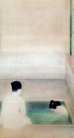 No Brash Festivity Kokei Kobayashi Japanese Drawings, Japanese Art, Grain Of Sand, Tumblr, Japanese Painting, Nihon, Museum Collection, Illustrations And Posters, Poster On