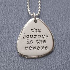 The Journey is the Reward Necklace