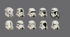 TOP 20 des fanarts de Dark Vador et des Stormtroopers Rpg Star Wars, Star Wars Helmet, Nave Star Wars, Images Star Wars, Star Wars Pictures, Tableau Star Wars, Arte Alien, Star Wars Design, Star Wars Concept Art