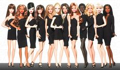 Nobody Does The LBD Better Than Barbie