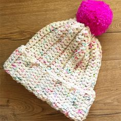 Whenever a person plans to crochet a winter hat, lots of designs start striking our mind. Then, how it is possible to crochet the best looking hat for you? Crochet Beanie, Knitted Hats, Crochet Hats, Kids Hats, Children Hats, Free Crochet, Knit Crochet, Crochet Patterns, Crochet Ideas