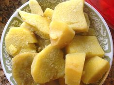 Jamaican Boiled Yellow Yam Recipe - Jamaicans.com White Yam, Jamaican Easter Bun Recipe, Jamaican Recipes, Cooking Yams, Cooking Recipes, Bread Recipes, Appetizer Recipes, Appetizers