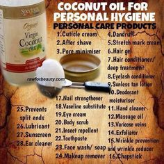 Coconut oil ❤ perfection
