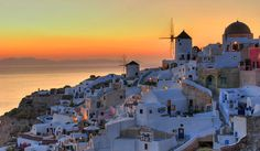 Free images about Sunset Santorini Greece - MobDecor Cool Places To Visit, Places To Go, Santorini Greece, Photos Of The Week, West Coast, The Good Place, National Parks, Around The Worlds, Island
