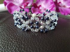Ladies beaded bracelet handmade bracelet handmade jewelry