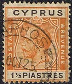 Cyprus 1925 King George V SG 107 Fine Used Scott 95 Other Cypriot Stamps HERE